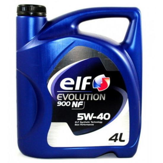 ELF 5W-40 EVOLUTION 900 NF А3/В4 синт. 4л (3шт) масло моторное