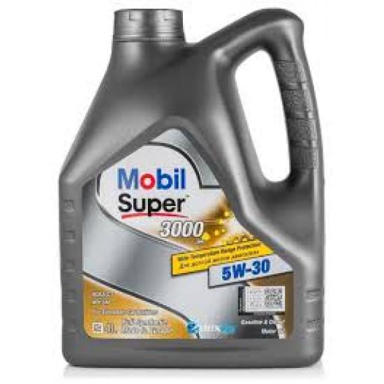 MOBIL 5W-30 SUPER 3000 XE DEXOS2 синт. 4л (4шт) масло моторное